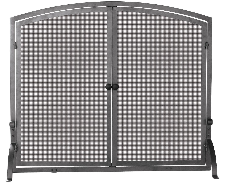 Blue Rhino S 1142 Single Panel Fireplace Screen With Doors
