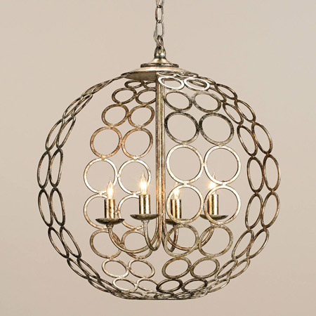 Currey and pany 9961 Tartufo Orb Chandelier