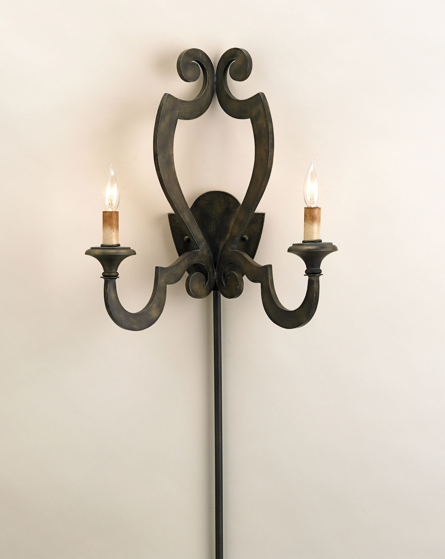 currey and company 5012 retrospect wall sconce. Black Bedroom Furniture Sets. Home Design Ideas