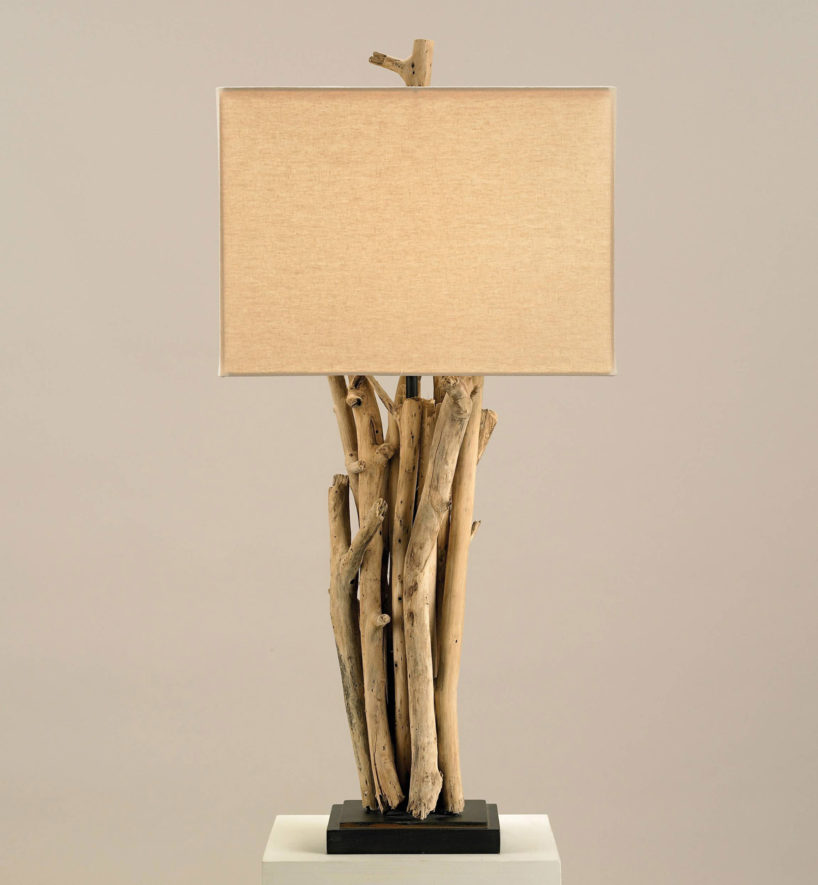 Currey And Company 6344 Driftwood Table Lamp