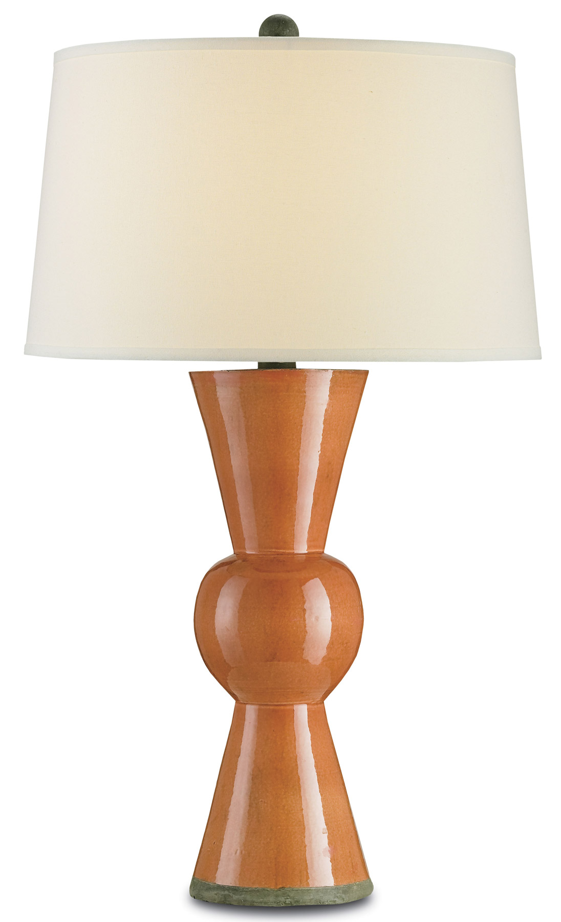 Currey And Company 6351 Upbeat Orange Table Lamp