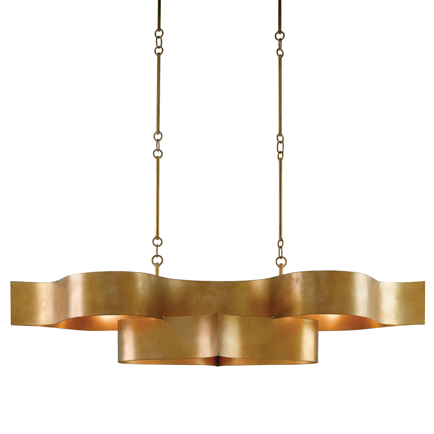 Currey And Company 9000-0046 Grand Lotus Oval Chandelier