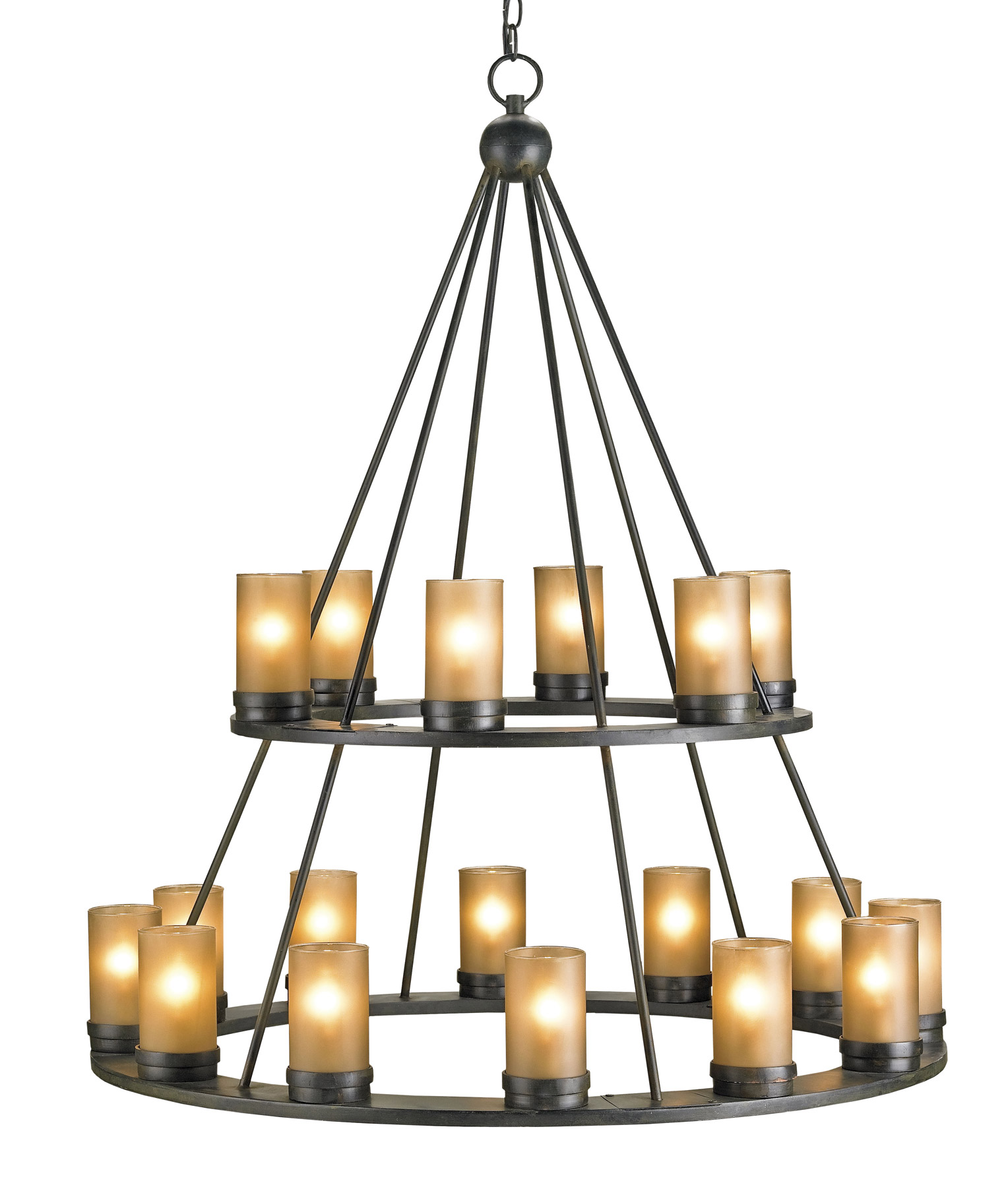 Currey And Company 9077 Darden Eighteen Light Chandelier