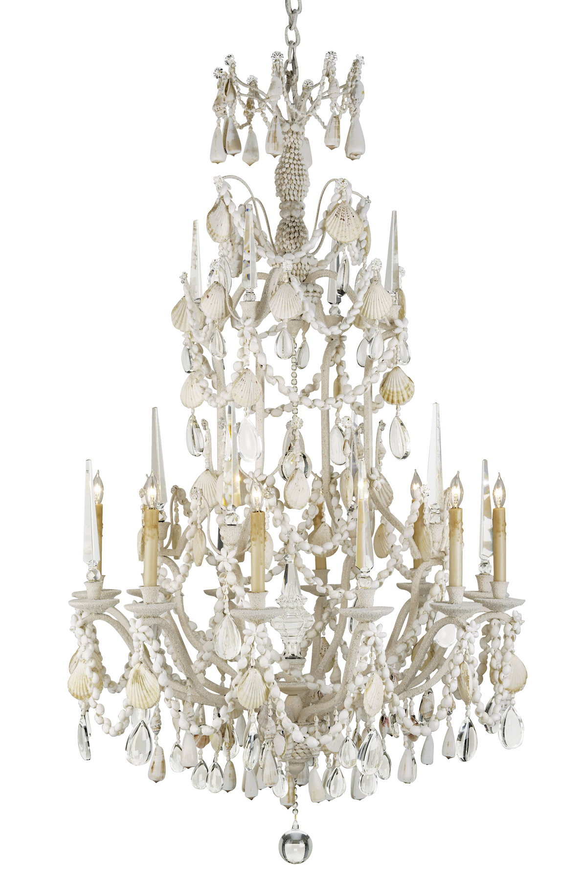 Currey and pany 9085 Crystal Buttermere Eight Light