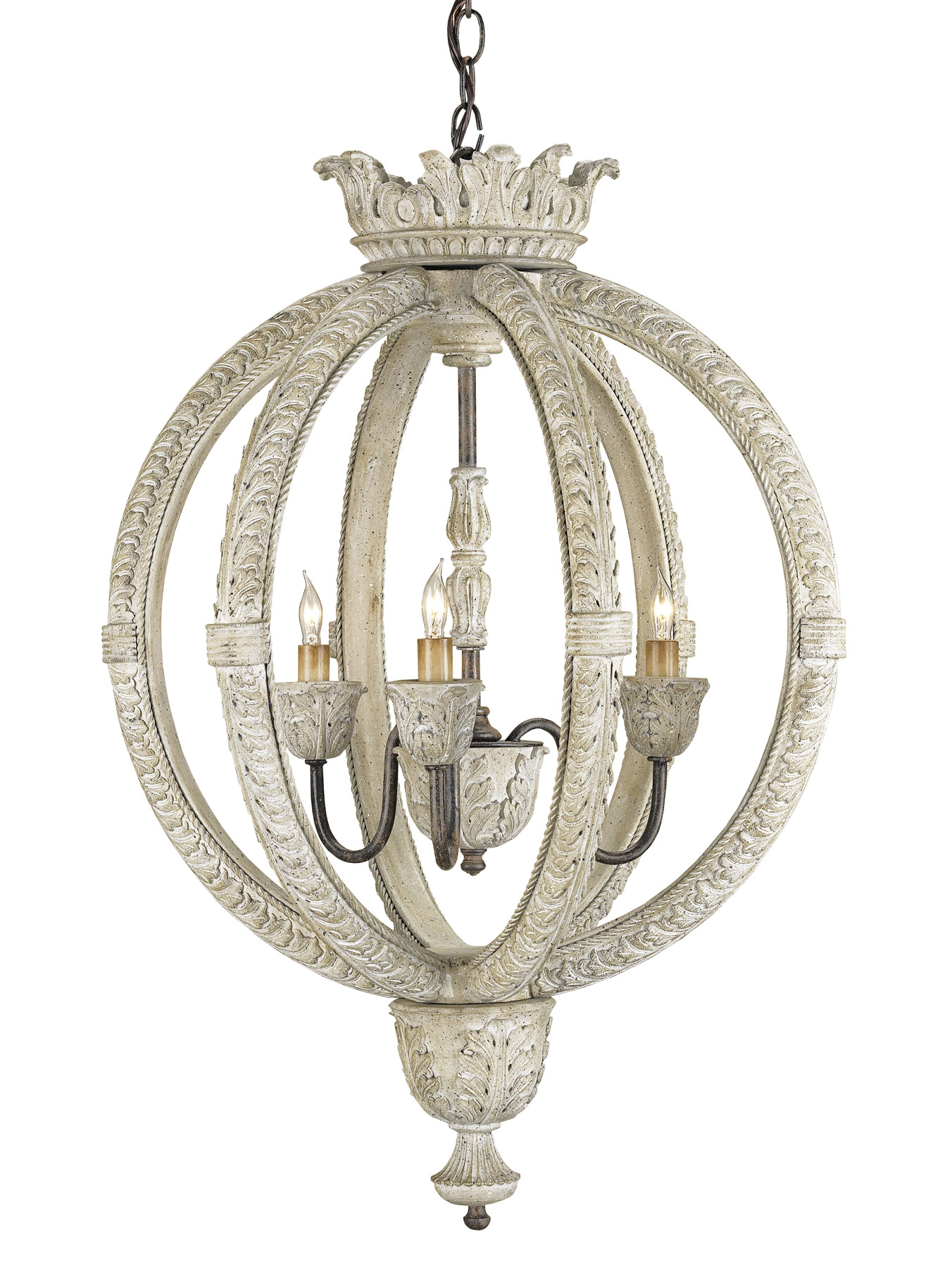 Currey and pany 9134 Dauphin Small Orb Chandelier