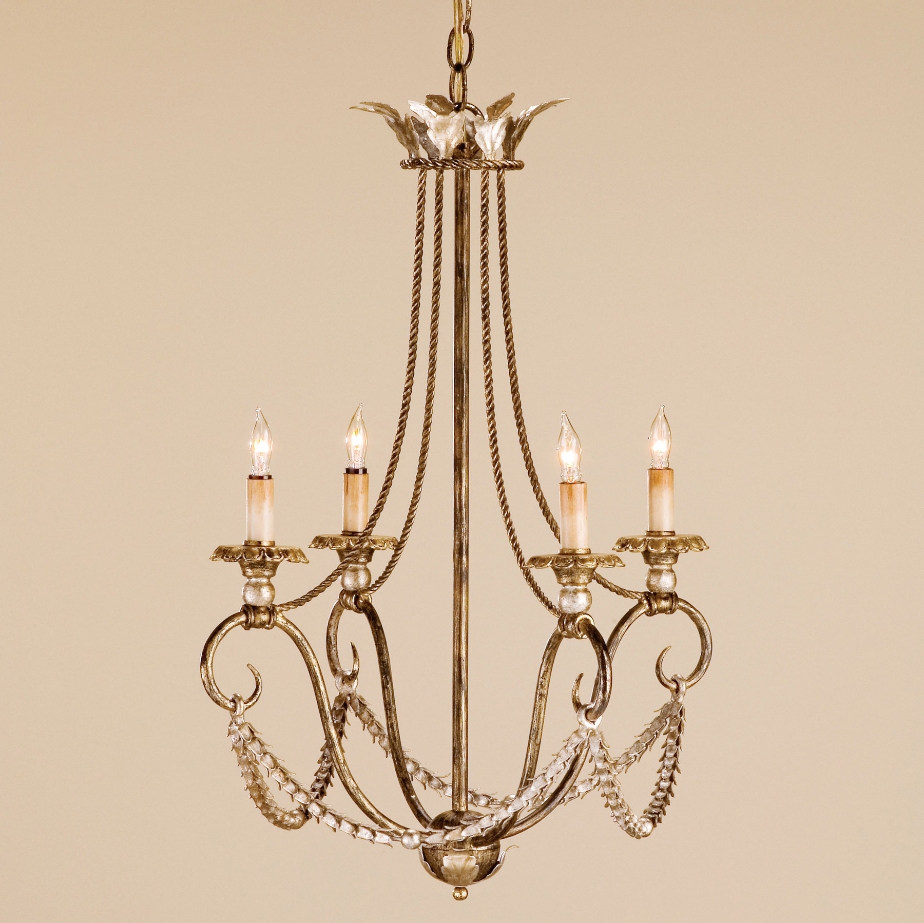And company 9461 anise four light chandelier currey and company 9461 anise four light chandelier mozeypictures Image collections