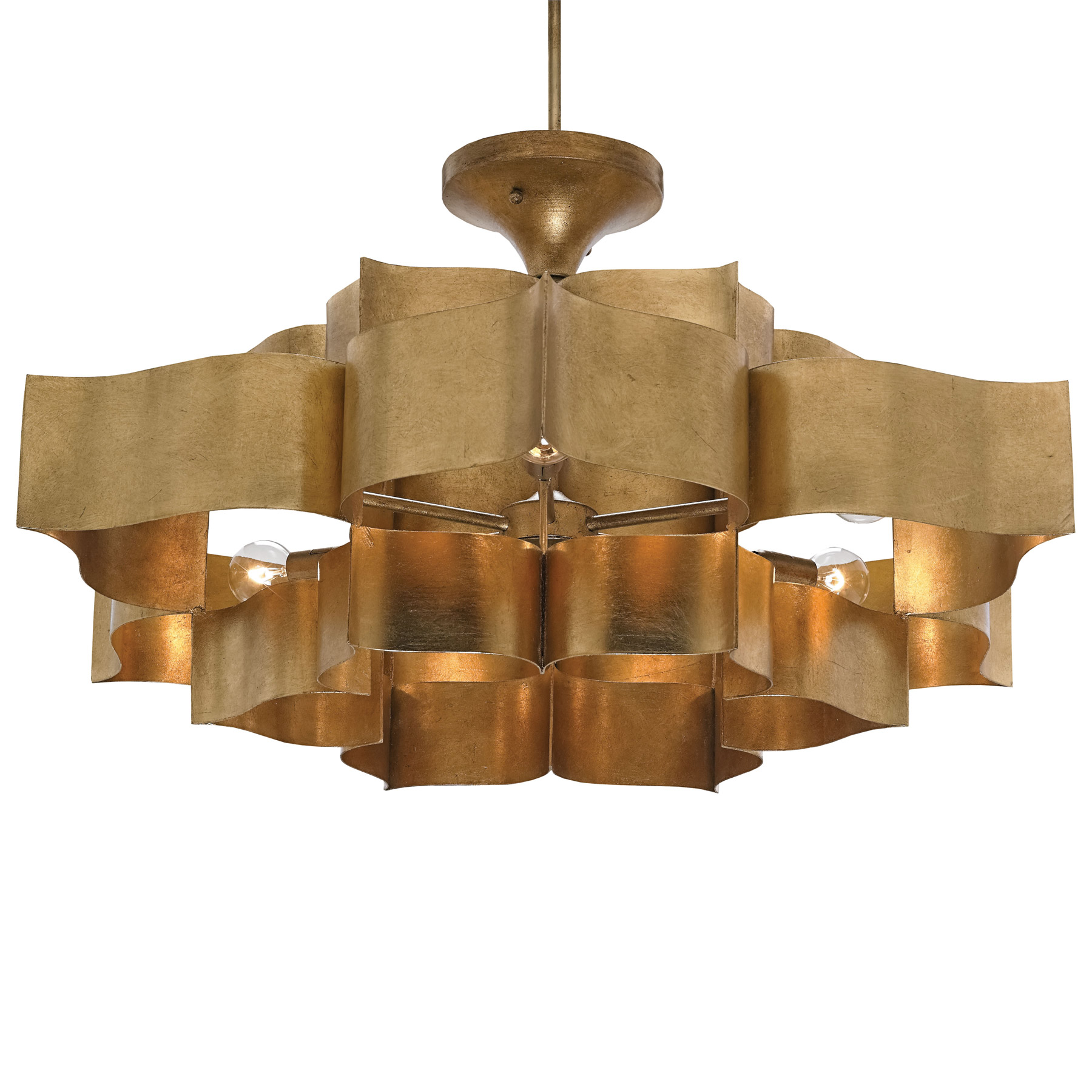 Currey And Company Lotus Chandelier: Currey And Company 9494 Grand Lotus Chandelier