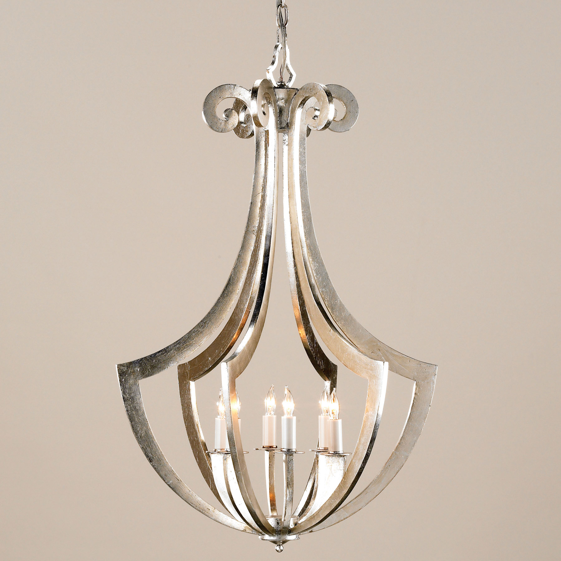 And company 9639 venus six light chandelier currey and company 9639 venus six light chandelier mozeypictures Image collections