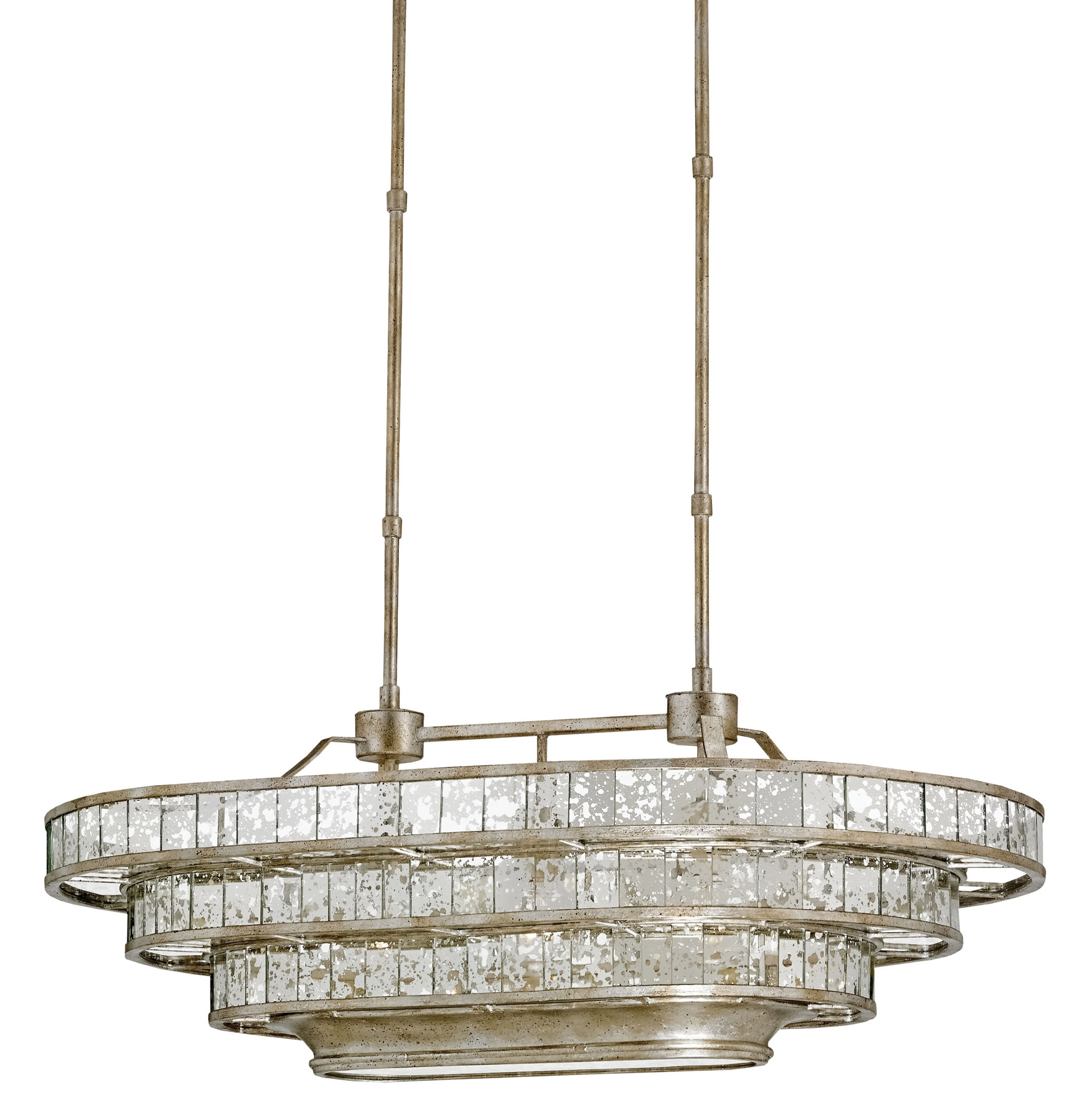 Currey And Company 9747 Frapp 233 Oval Chandelier
