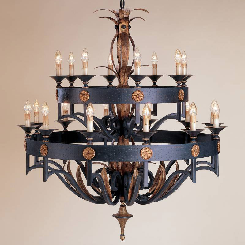 Currey And Company 9837 Camelot Twenty Light Chandelier