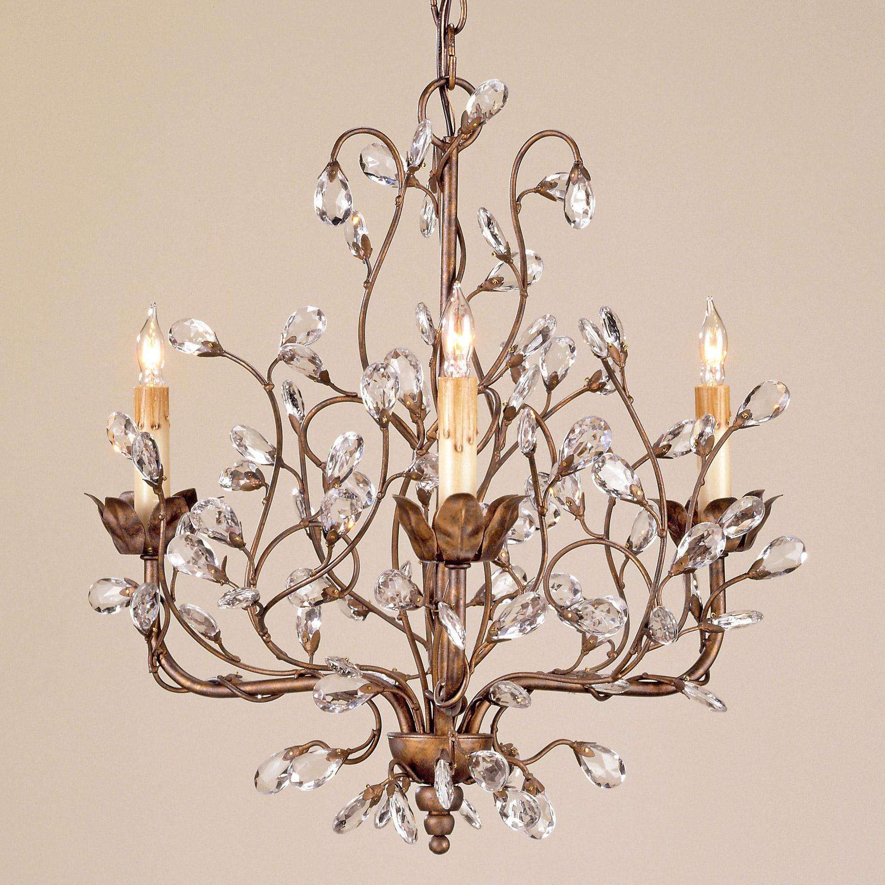 Currey and company 9883 crystal crystal bud mini chandelier aloadofball Choice Image