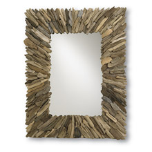Currey and Company 4344 Beachhead Mirror