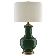 Currey and Company 6000-0022 Lilou Green Table Lamp