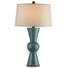 Currey and Company 6896 Upbeat Teal Table Lamp