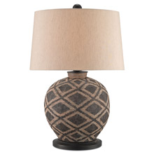 Currey and Company 6990 Afrikan Table Lamp