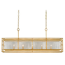 Oval and rectangular chandeliers lamps beautiful currey and company 9000 0001 crystal adelle rectangular chandelier aloadofball Images