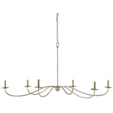 Currey & Company 9000-0055 Saxon 6 Light Chandelier
