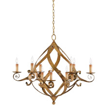 Currey Company 9000 0057 Gramercy 9 Light Chandelier
