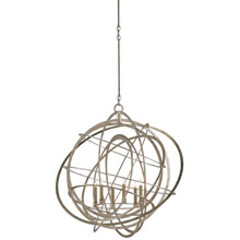 Currey & Company 9000-0062 Genesis 6 Light Chandelier