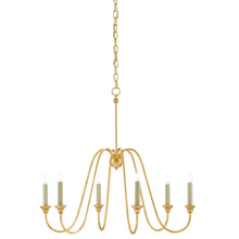 Currey & Company 9000-0063 Orion 6 Light Chandelier