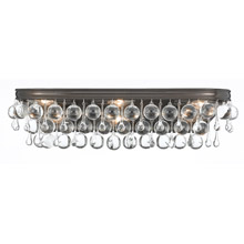 Crystorama 133-VZ Calypso 6 Light Bronze Vanity Light