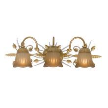 Bathroom Vanity Lights Gold gold finished bathroom vanity lights - lamps beautiful