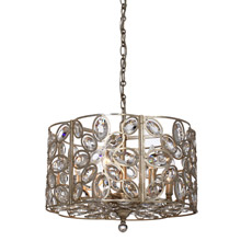 Crystorama 7586-DT Sterling 6 Light Distressed Twilight Chandelier