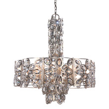 Crystorama 7588-DT Sterling 8 Light Distressed Twilight Chandelier