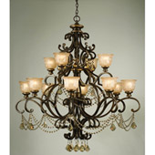 Traditional Norwalk 12 Light Golden Teak Crystal Chandelier - Crystorama 7512-BU-GT-MWP