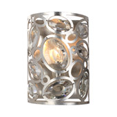 Sterling 1 Light Distressed Twilight Sconce - Crystorama 7581-DT