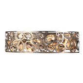 Sterling 4 Light Distressed Twilight Bathroom-Vanity Light - Crystorama 7585-DT