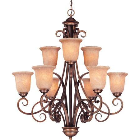 Dolan Designs 2092-133 Medici Nine Light Chandelier