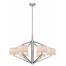 Dolan Designs 1882-09 Monaco 6Lt Large Chandelier