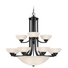 Dolan Designs 206-46 Fireside 2 Tier Bowl Chandelier