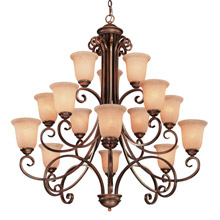 Dolan Designs 2093-133 Medici Fifteen Light Chandelier