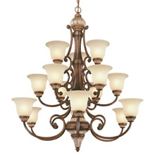 Dolan Designs 2643-211 Bonita Fifteen Light Chandelier