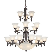 Dolan Designs 663-30 Richland Twenty-Six Light Chandelier
