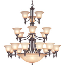 Dolan Designs 663-78 Richland Twenty-Six Light Chandelier