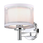 Double Organza 1Lt Wall Sconce - Dolan Designs 1277-26
