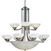 Transitional Fireside Fifteen Light Chandelier - Dolan Designs 206-09