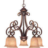 Traditional Medici Five Light Chandelier - Dolan Designs 2099-133