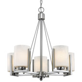 Transitional Uptown Five Light Chandelier - Dolan Designs 2240-09