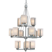 Transitional Uptown Twelve Light Chandelier - Dolan Designs 2243-09