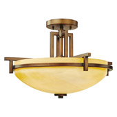 Transitional Roxbury Semi-Flush Ceiling Fixture - Dolan Designs 2815-133