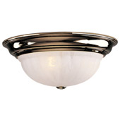 Traditional Richland Flush Mount Ceiling Fixture - Dolan Designs 523-14