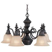Traditional Richland Six Light Chandelier - Dolan Designs 660-78