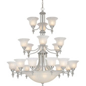 Transitional Richland Twenty-Six Light Chandelier - Dolan Designs 663-09