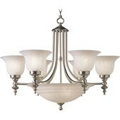 Transitional Richland Nine Light Chandelier - Dolan Designs 665-09