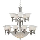 Transitional Richland Twenty Light Chandelier - Dolan Designs 668-09