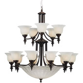 Traditional Richland Twenty Light Chandelier - Dolan Designs 668-30